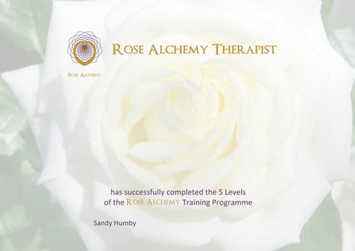 Rose Alchemy Certificate