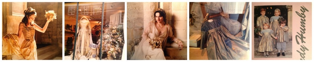 Wedding Dress collage Sandy Humby-min